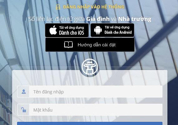 Hướng dẫn sử dụng sổ liên lạc điện tử