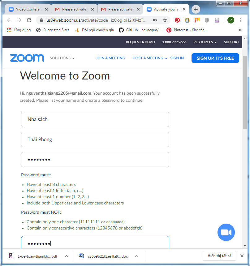 lỗi This meeting ID is not valid. Please check and try again trong zoom 3